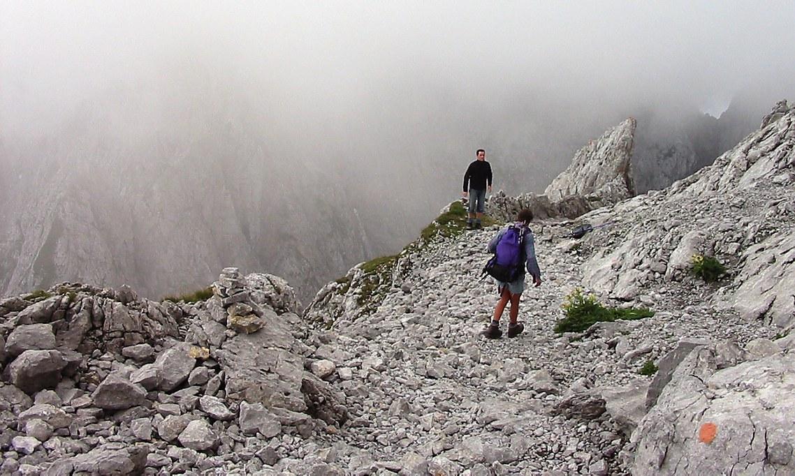 Klettersteig Ellmauer Halt : Ellmauer halt m ft via gämsänger klettersteig daniel