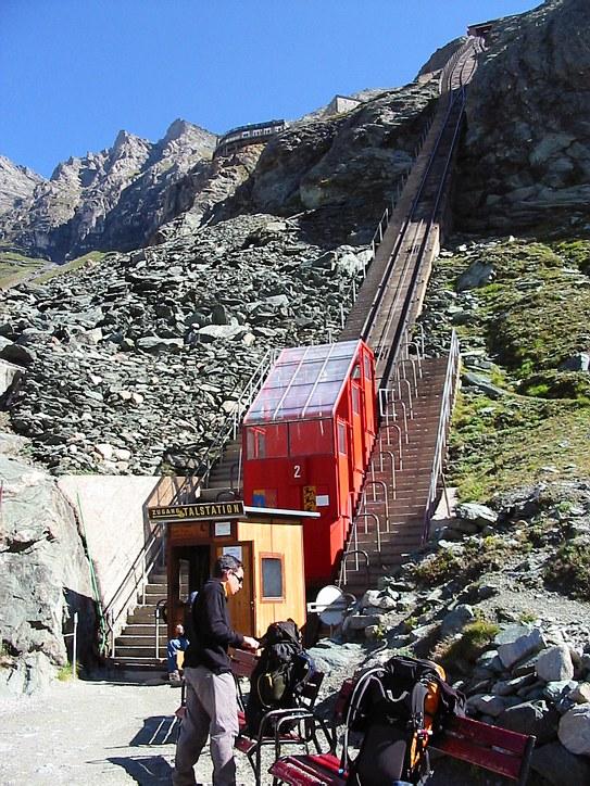 Großglockner climb: cable railway