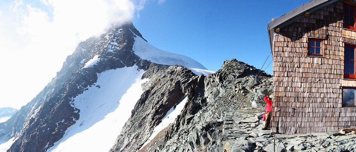 Großglockner climb: Erzherzog-Johann-Hütte, Großglockner