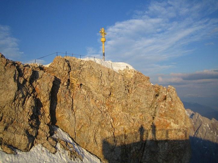 Zugspitze via Höllental: the summit