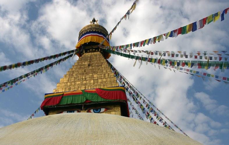 Kathmandu: Boudnanath Stupa